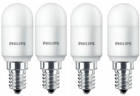 4x Attralux by Philips LED Kühlschranklampe E14 T25 für 9,95€ (statt 21€)