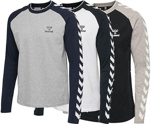 Hummel hmlMARK Langarm Shirt in 3 Farben für je 19,91€ (statt 30€)