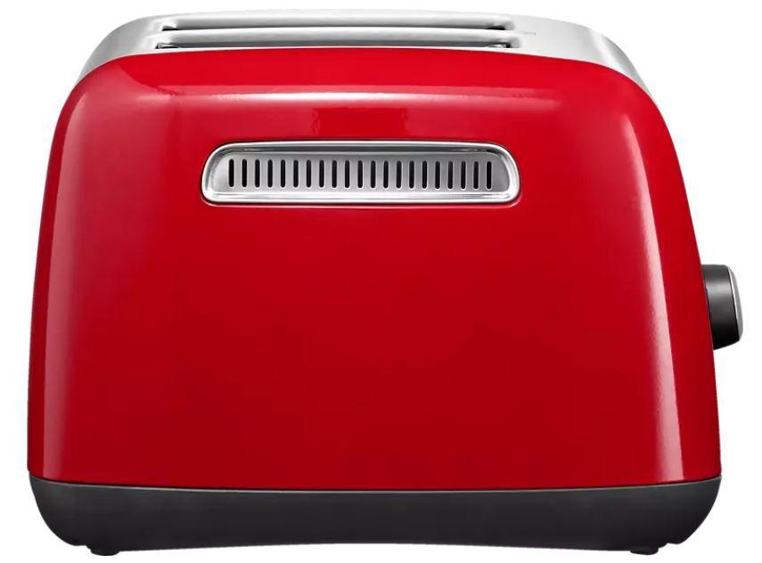 KitchenAid 5KMT221EER 2 Scheiben Toaster in Rot für 62,99€ (statt 78€)