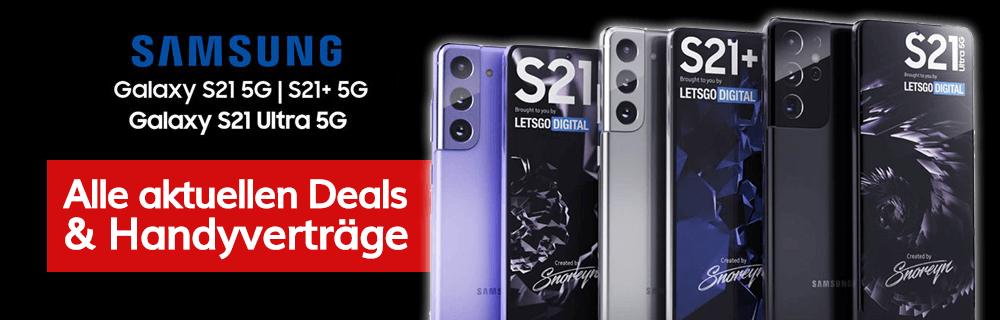 Aktuelle Samsung S21 5G Angebote