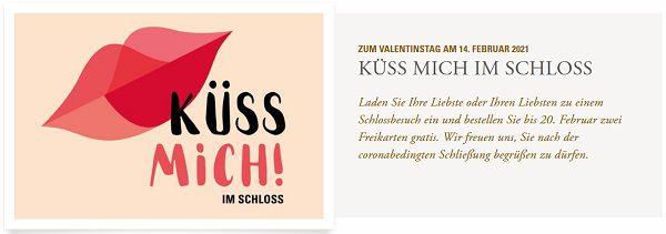 Baden Württemberg: Zwei Freikarten für staatliche Schlösser und Gärten