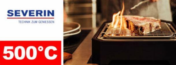 SEVERIN PG 8545 Steakboard max 500° für 59,99€ (statt 69€)
