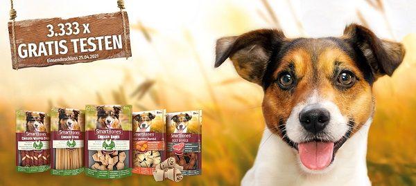 SmartBones Hundesnacks gratis ausprobieren