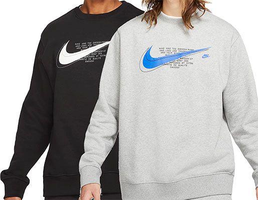Nike Sportswear Court Fleece Rundhalspullover in 4 Farben für je 34,97€ (statt 50€)