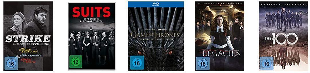 Amazon Popcorn Woche: günstige Filme, Serien, TVs, Beamer & Co.