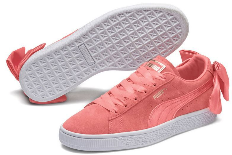 PUMA Suede Bow Damen Sport Classics Sneaker für 23,95€ (statt 37€)