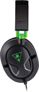 TURTLE BEACH Recon 50X Over ear Headset in Schwarz/Grün für 22,98€ (statt 28€)