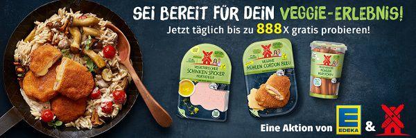 Vegetarische und vegane Rügenwalder Mühle Produkte gratis ausprobieren
