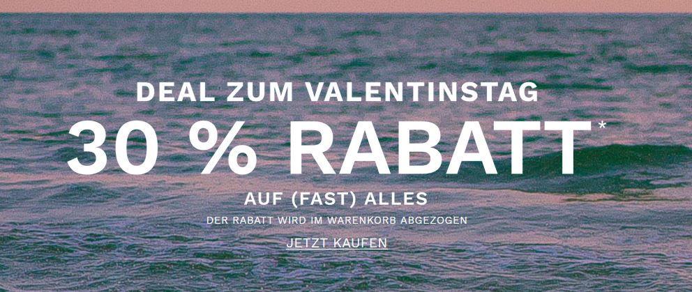 Skagen Valentinstag mit 30% extra Rabatt auf fast Alles + 15% NLGutschein