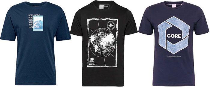 AboutYou: Günstige T Shirts ab 5,90€ z.B. Jack & Jones, Tom Tailor, s.Oliver & mehr