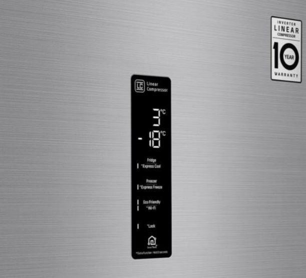 LG Kühl Gefrierkombination GBB71PZDFN Edelstahl NoFrostWiFi für 499,99€ (statt 628€)