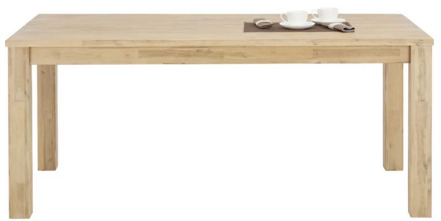 Zandiara Esstisch aus Akazie (180 x 76 x 90cm) für 209,30€ (statt 299€)