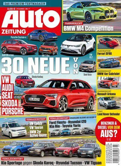 Jahres Abo: 25 Ausgaben Auto Zeitung für 90€ inkl. 80€ Amazon Gutschein