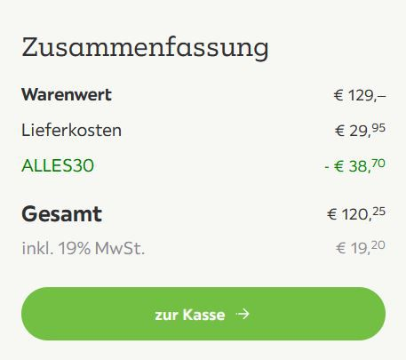 Regal in Grau (105 x 145 x 33 cm) ab 90,30€ (statt 129€)