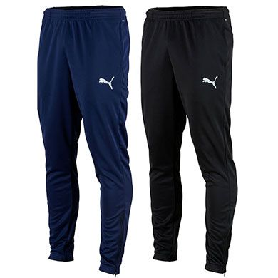 Puma TeamRISE Poly Jogginghose in Blau oder Schwarz für je 16,99€ (statt 20€)