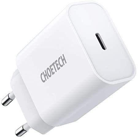 Choetech 20W USB C Ladegerät mit QC 3.0 für 8,99€ (statt 13€)   Prime