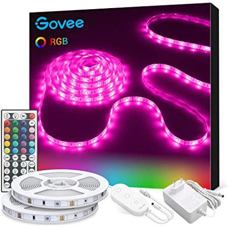 2x 5m Govee H6189 LED RGB Streifen mit Fernbedienung & Netzteil für 19,99€ (statt 28€)