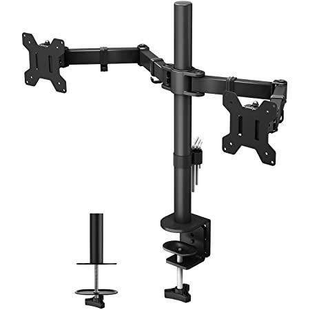 BONTEC MDM 002  Monitor Tischhalterung für 13   27 Zoll & 10kg pro Arm für 32,19€ (statt 46€)