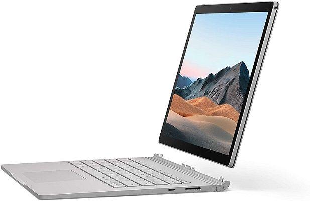 Surface Book 3   Convertible mit 13,5 Display und i5 Prozessor, 8 GB RAM & 256 GB SSD für 1.239€ (statt 1.333€)