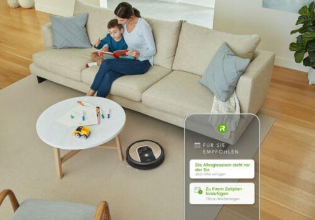 iRobot Roomba 966 Saugroboter mit App Steuerung für 279€ (statt 350€)