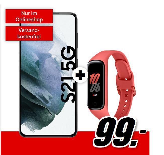 🔥 Samsung Galaxy S21 5G + Fit 2 Tracker für 99€ + Telekom Allnet + 10GB LTE für 29,99€ mtl.