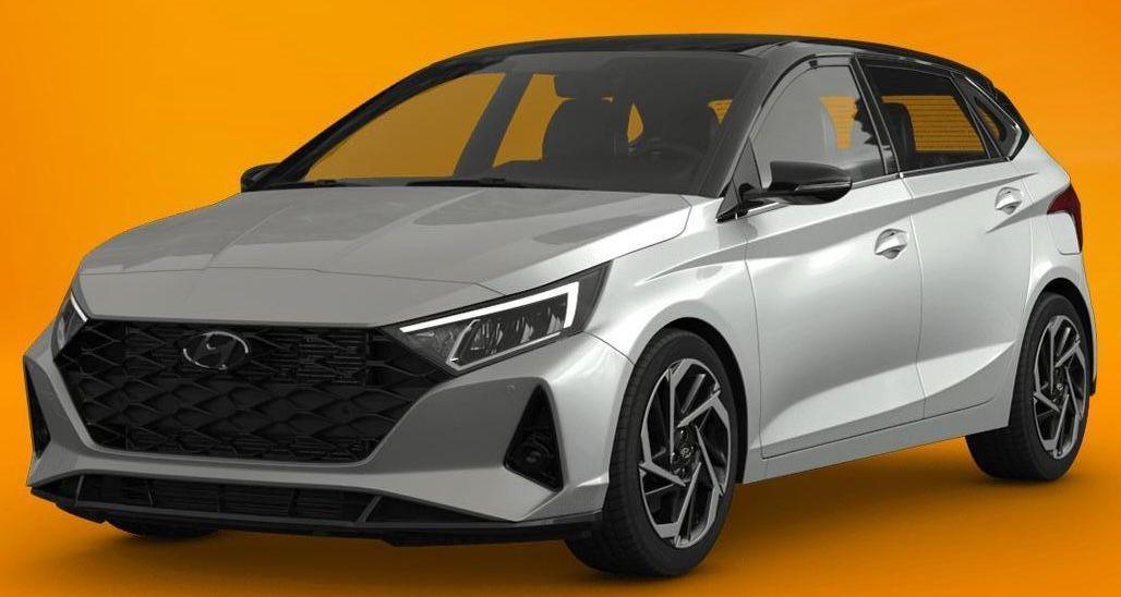 Hyundai i20 1.0 T GDI Hybrid (neues Modell) mit 101 PS für 109,46€ mtl.   LF: 0.59