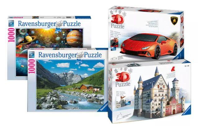 Groupon: Ravensburger Gutscheine bis 35% reduziert   z.B. 100€ Gutschein für 64,95€