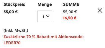 Tipp! FOSSIL Herren Leder Geldbörse Easton mit RFID Trifold für 16,50€ (statt 55€)