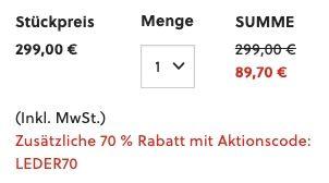 Fossil Herren Reise Tasche Even aus Leder für 89,70€ (statt 189€)