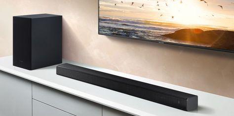 Samsung HW T550 Soundbar mit kabellosem Subwoofer für 188,90€ (statt 224€)