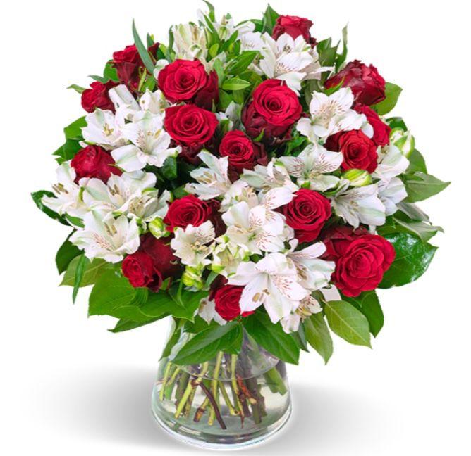 35 Stiele Liebesgruß mit bis zu 150 Blüten für 25,98€