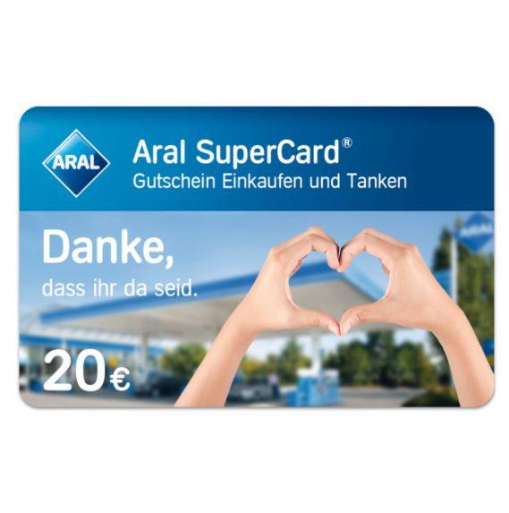 Verlosung: 20€ Aral SuperCards für Post- & Paketzustellern*innen – 10.000 Stück!