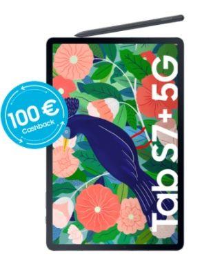 🔥 Samsung Galaxy Tab S7+ 5G 256GB inkl. S Pen für 1€ + o2 Free Unlimited Max für 59,99€ mtl. + 1 Jahr Netflix + 100€ Cashback