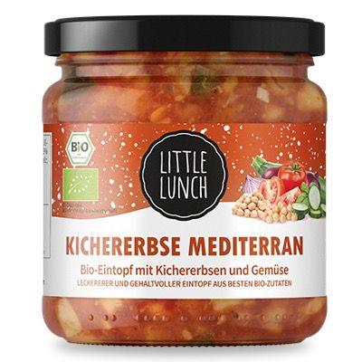 24x Little Lunch Kichererbse Mediterran für 32€ – nur 1,34€ pro Suppe