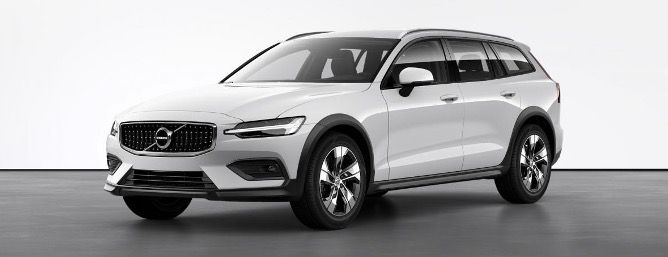 Privat: Volvo V60 B4 Diesel Cross Country Pro Allrad mit 8 Gang Geartronic in Ice White für 259€   LF 0,52