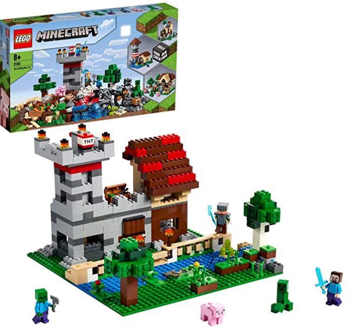 LEGO 21161 Minecraft – Die Crafting-Box 3.0 für 49,99€ (statt 60€)
