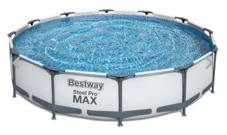 Bestway Steel Pro MAX Swimming Pool Set 366x76cm für 119,99€ (statt 194€)