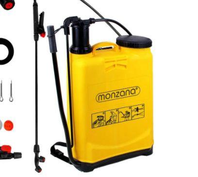 Monzana Rücken Drucksprüher 20 Liter mit Zubehör für 24,95€ (statt 35€)
