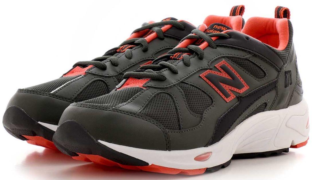 New Balance CM 878 Sneaker in Schwarz/Rot für 29,99€(statt 59€)