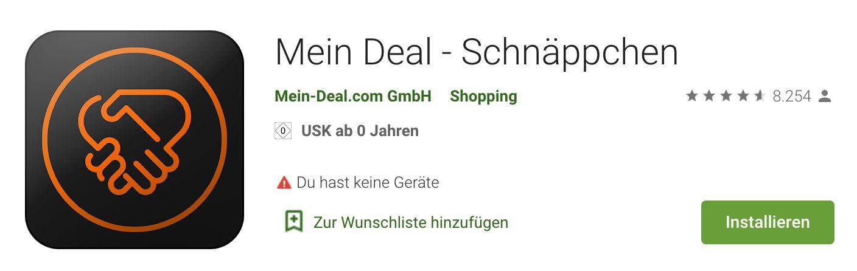 WICHTG! Android Mein Deal App Update ist draußen   bitte laden!