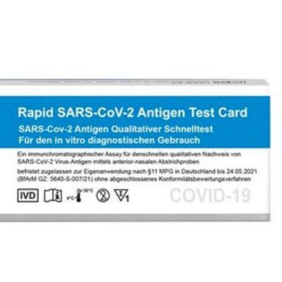 Jetzt gehts endlich: 5er Pack Corona SARS-CoV-2 Antigenschnelltest Boson nur 21,99€ – Abstrich aus der Nase reicht
