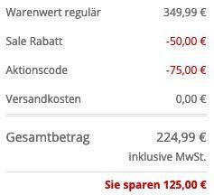 Tommy Hilfiger Kurzmantel mit DuPont Sorona Insulation in Marineblau für 224,99€ (statt 330€)   46 bis 50