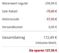 JOOP! Jeans Steppjacke Josha mit abnehmbarer Kapuze in Schwarz für 172,49€ (statt 250€)