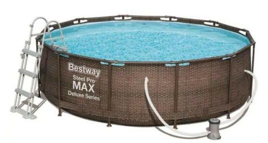Bestway Pool Steel Pro Max Deluxe (Ø366x100cm) für 399,99€ (statt 479€)