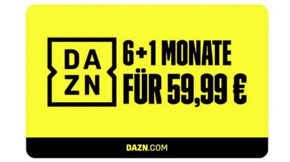 7 Monate DAZN für 59,99€ (statt 84€)   auch für Bestandskunden!