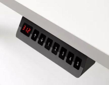 carryhome Schreibtisch (80 x 160 cm, höhenverstellbar) mit Memory Funktion für 389,58€