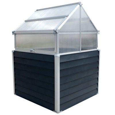Westmann Hochbeet Store & Grow mit Pflanztrögen aus Stahlblech und Dach-Paneelen ab 184,99€ (statt 214€)