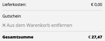 adidas Kapuzenpullover Essential 3S Fleece Hoodie in Dunkelblau Weiß für 27,47€ (statt 38€)
