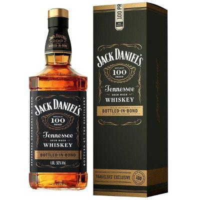 2x Jack Daniel's Bottled In Bond 50% 1 Liter in schickem Geschenkkarton für 58,50 (statt 65€)