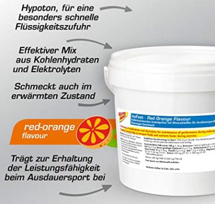 3kg Dextro Energy Red Orange Iso Fast Pulver ab 16,56€ (statt 25€)